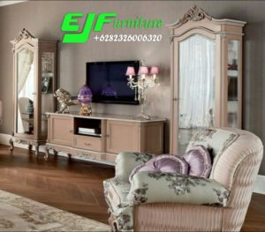Set Bufet Tv ukir  Terbaru