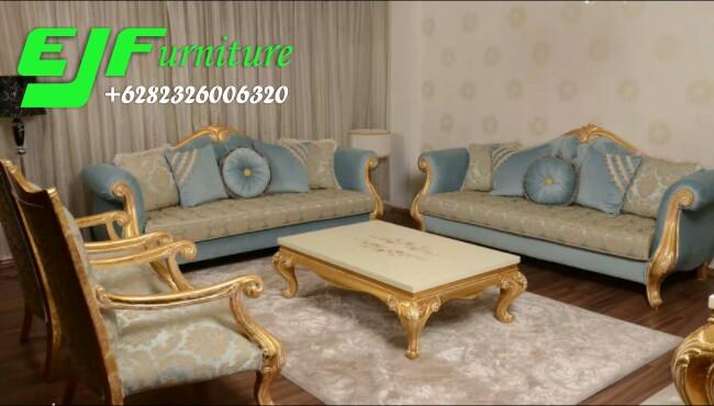 Set Ruang  Tamu  Sofa Minimalis  Moderen Adelia Edy