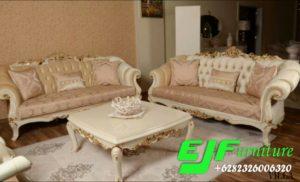 Set Ruang Tamu Sofa Ukir Carbia