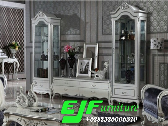 Set-Bufet-Tv-Duco-Putih-Modern-Simpony Set Bufet Tv Duco Putih Modern Simpony