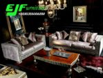 Sofa Tamu Minimalis Modern Ukir Nella Kharisma