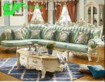 Sofa Tamu Sudut Duco Putih Modern New