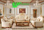 Set Sofa Tamu Jati Mas Ukir Klasik