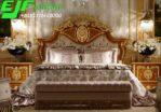 Tempat Tidur Adinda Jati Klasik Ukir Jepara