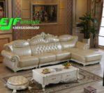 Kursi Sofa Tamu Sudut Terbaru Ukir Mewah Star