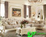 Sofa Sudut Modern Ukir Meja Laci Terbaru