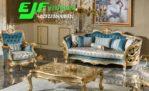 Set Sofa Tamu Murah Mewah Ukir Kalingga Italian Furniture