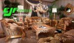 Sofa Tamu Italian Ukir Mewah Terbaru Sofia