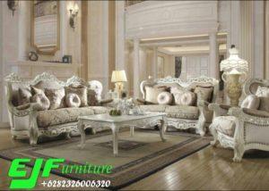 Sofa Tamu Ukir Klasik Duco Sivana