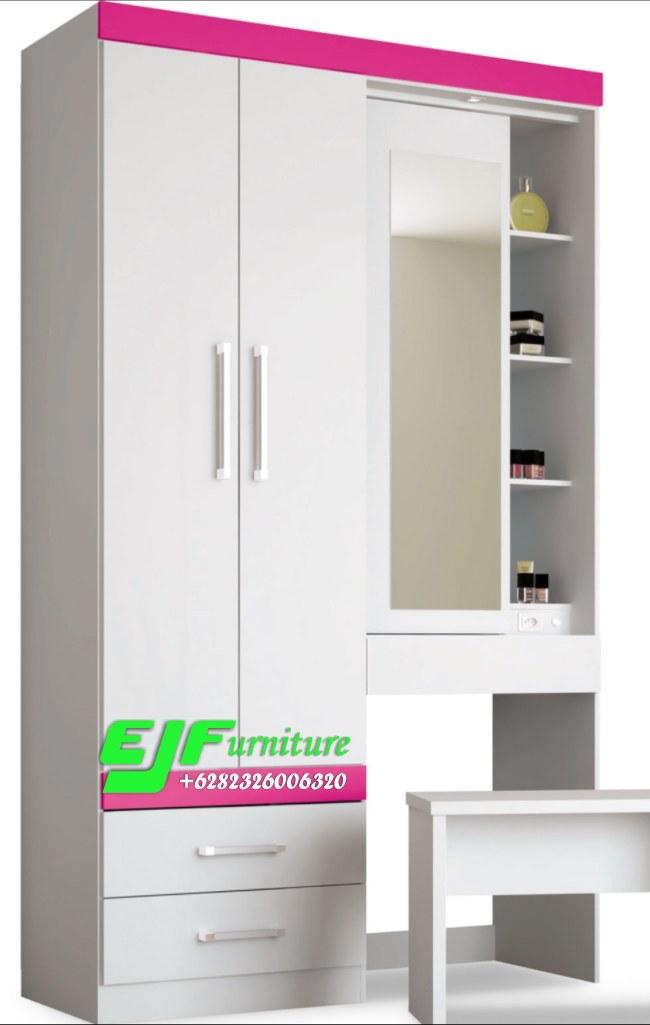 Lemari Pakaian Duco Putih Minimalis Modern Termurah Jepara Edy Jayafurniture Edy Jayafurniture