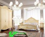Set kamar Tidur Murah Ukir Jepara Duco Putih Eropa