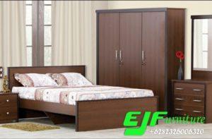 Set Tempat Tidur Kartika Jati Minimalis Terbaru
