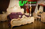 Set Tempat Tidur Ukir Model Italia Duco Modern Terbaru