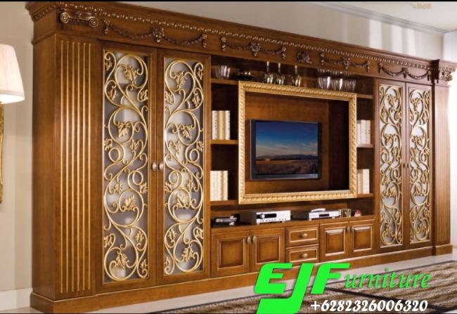 Bufet-Tv-Minimalis-Modern-Kayu-Jati-012 Bufet Tv Minimalis Modern Kayu Jati 012 Bufet-Tv-Minimalis-Modern-Kayu-Jati-012