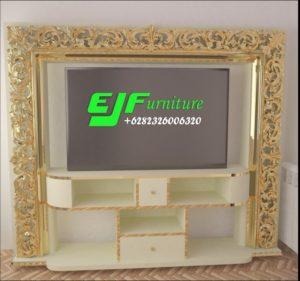 Set Bufet Tv Minimalis Modern Ukir Duco 011