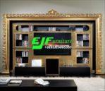 Set Bufet Tv Minimalis frame Ukir Terbaru 014