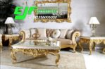 Set Sofa Tamu Ukir Asli Jepara Duco Gold 117