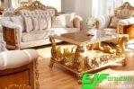 Sofa Tamu Ukir Duco Mewah Terbaru 238