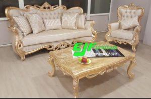 Sofa Tamu Ukir Mewah Duco Gold Terbaru 239