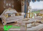 Sofa Tamu Ukir Modern Duco Mewah Terbaru 237