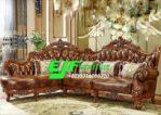 Kursi Sofa Tamu Sudut Ukir Jati Terbaru 260