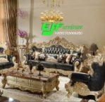 Set Sofa Tamu Ukir Jepara Duco Emas 251