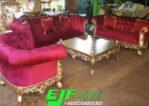 Sofa Tamu Ukir Mewah Duco emas Terbaru 258