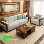 Kursi Tamu Sofa Minimalis Jati Mewah 027