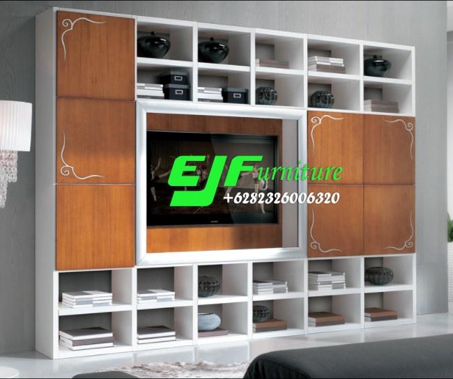 Bufet-Tv-Minimalis-Modern-Duco-Mewah-027 Bufet Tv Minimalis Modern Duco Mewah 027