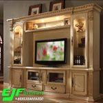 Bufet Tv Ukir Duco Klasik Terbaru 024