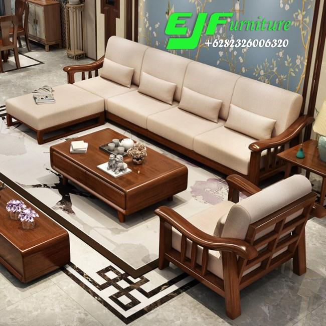 55 Koleksi Kursi Jati Minimalis Modern HD Terbaru