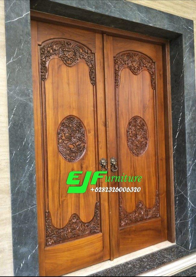 Pintu-Rumah-Ukir-Mewah-Kayu-Jati-Jepara-015 Pintu Rumah Ukir Mewah Kayu Jati Jepara 015 Pintu-Rumah-Ukir-Mewah-Kayu-Jati-Jepara-015