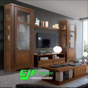 Set Bufer Tv Minimalis Modern Kayu Jati 026