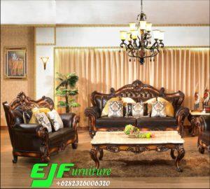 Set Sofa Tamu Ukir Jati Jepara 272