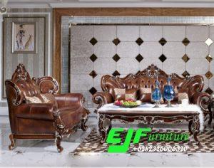 Set Sofa Tamu Ukir Mewah Jati Jepara 283