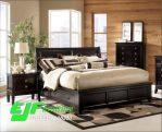 Set Tempat Tidur Minimalis Jati Klasik Mewah 5