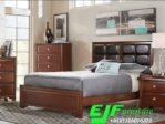 Set Tempat Tidur Minimalis Terbaru Jati 055