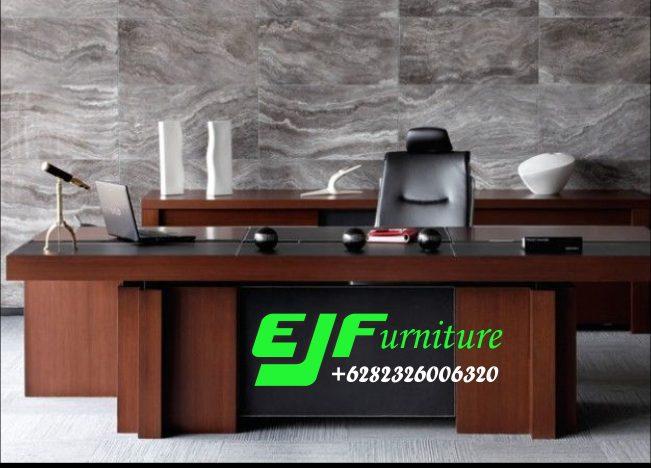 Meja-Kantor-Minimalis-Jati-Jepara-Terbaru-014 Meja Kantor Minimalis Jati Jepara Terbaru  014
