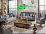 Set Sofa Tamu Jati Minimalis Mewah Klasik 277