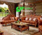 Sofa Tamu Ukir Jati Jepara model Terbaru 287