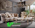 Sofa Tamu Ukir Jepara Duco Putih emas 292