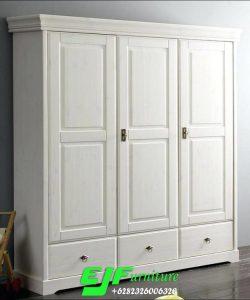 Lemari Pakaian Minimalis Tiga Pintu Terbaru 31