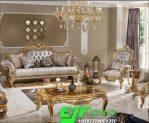 Kursi Sofa Tamu Ukir Mewah Duco emas 301
