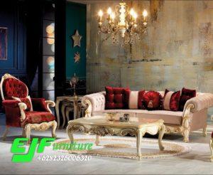 Set Sofa Tamu Ukir Mewah Duco Terbaru 288