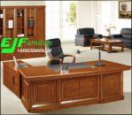 Meja Kantor Minimalis Modern Kayu Jati 24