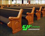 Bangku Gereja Jati Minimalis Model Bagong 08