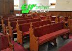 Bangku Gereja Minimalis Kayu Jati Model Terbaru 09