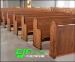 Bangku Gereja Jati Minimalis Terbaru Harga Murah