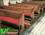 Bangku Gereja Jati Ukir Jepara Terbaru