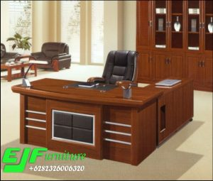 Meja Kantor Jati Minimalis Jepara Terbaru 29